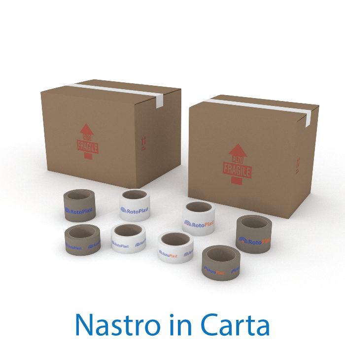 Nastri adesivi personalizzati in Carta