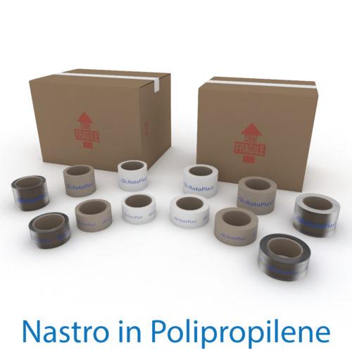 Nastri adesivi personalizzati in Polipropilene